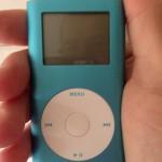 Foto del iPod Mini azul de @phroc