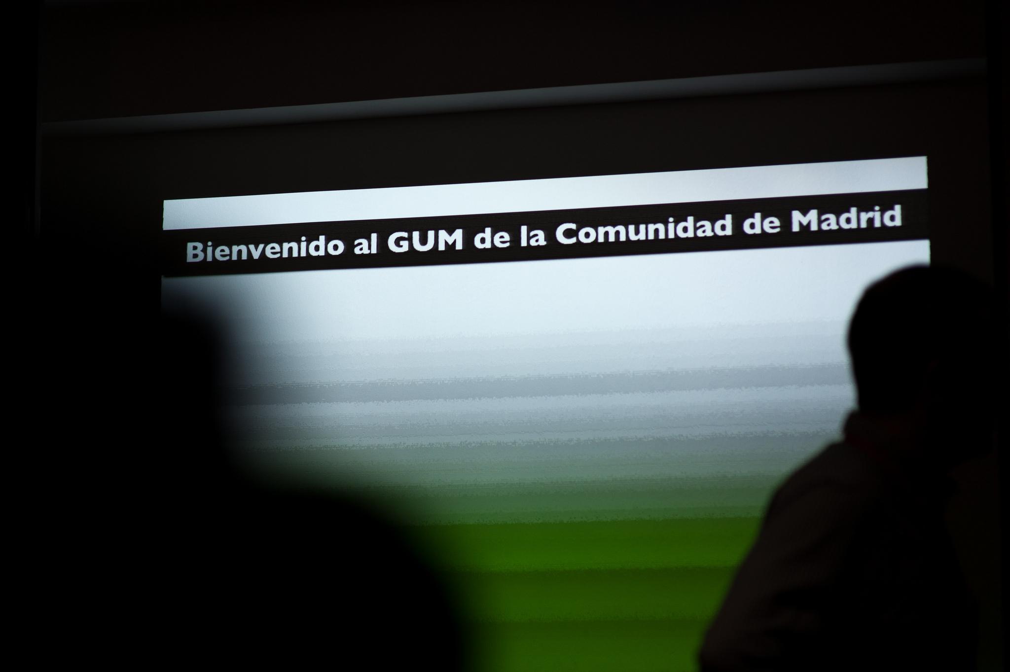 Detalle de una de las diapositivas de la presentacion