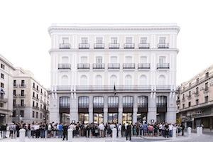 Inauguración Apple Store Puerta del Sol