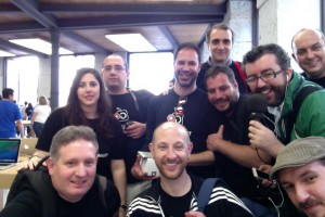 Photo Booth del socios del GUMCAM en la Apple Store de Sol