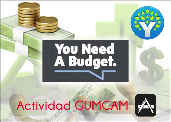 Actividad Gumcam: YNAB – Necesitas un presupuesto – 20 de junio de 2015