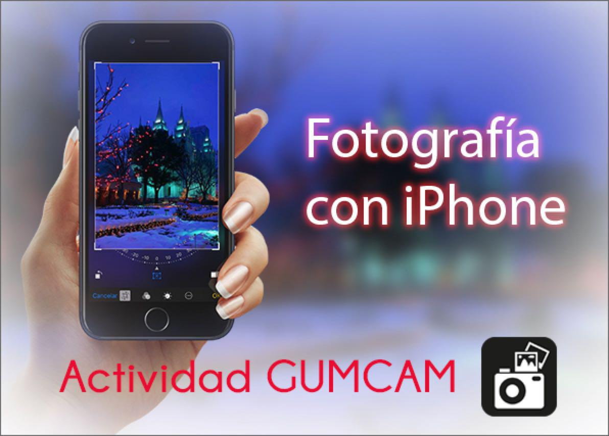«Fotografía con iPhone». Vídeo completo.