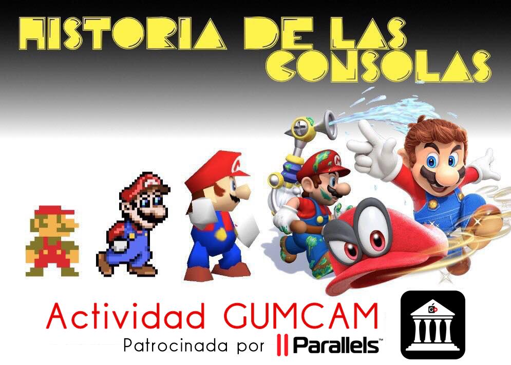 Actividad GUMCAM – Historia de las consolas