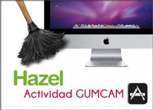 Foto de presentación de la actividad con el logo de Hazel y un iMac al fondo.