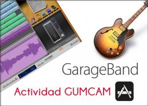 Actividad-Gumcam-garageband