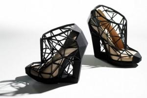 Zapatos hechos con impresión 3D