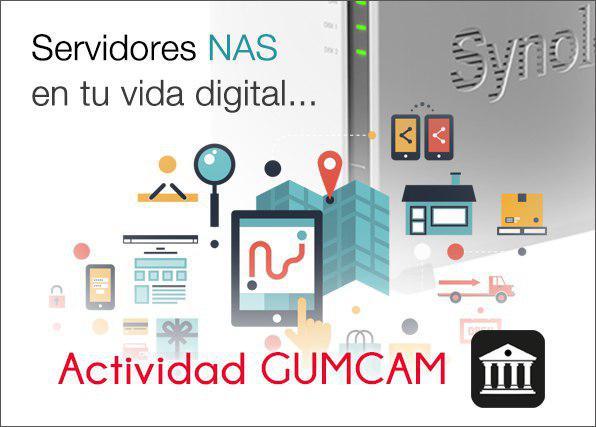 Actividad Gumcam – Servidores NAS en tu vida digital