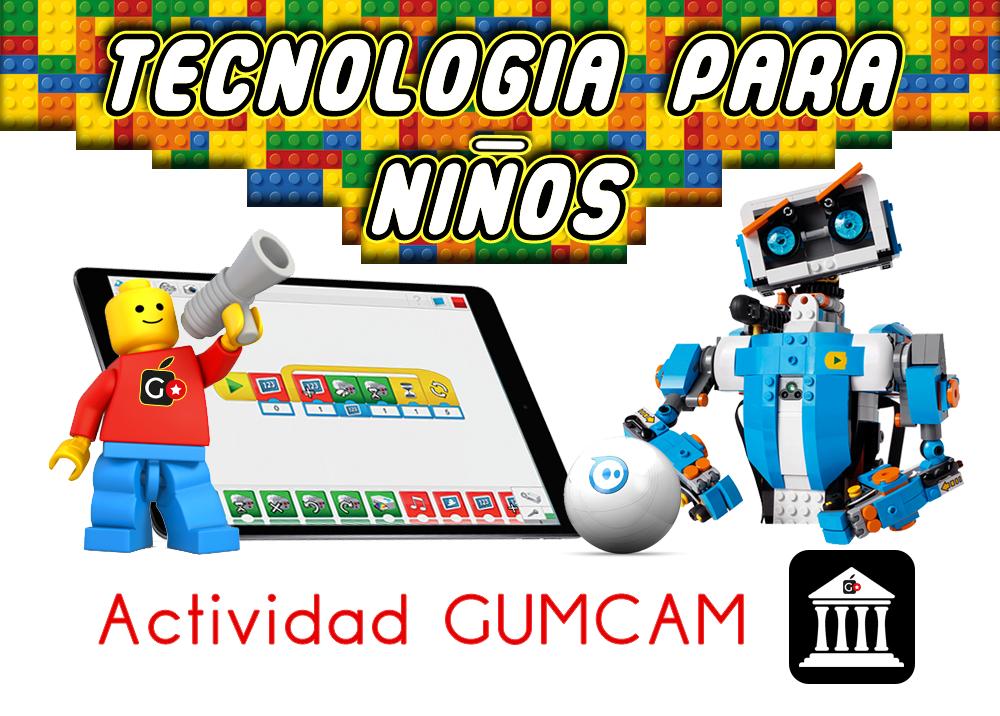 Actividad Gumcam – Tecnología para niños