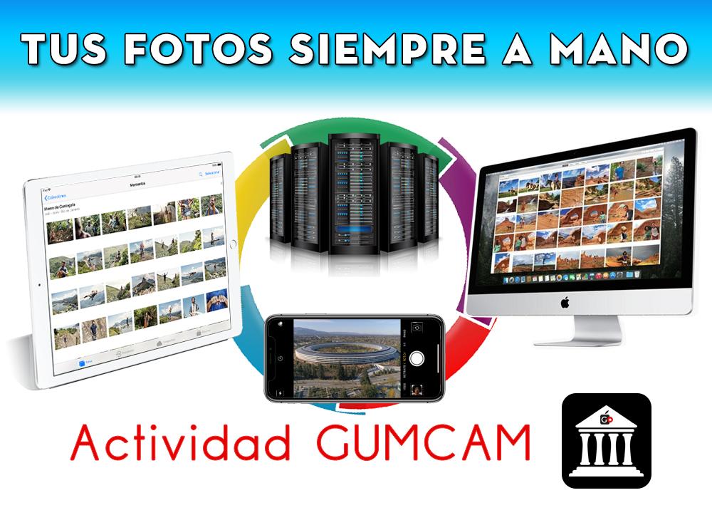 Actividad Gumcam – Tus fotos siempre a mano
