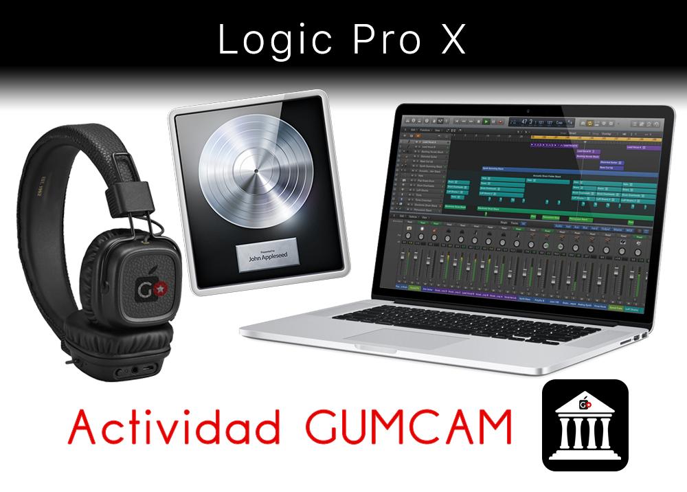 Actividad Gumcam – Logic Pro X