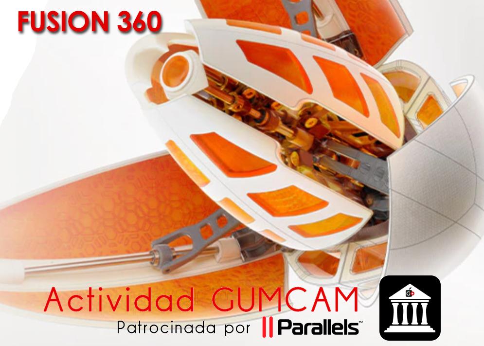Actividad Gumcam – Fusion 360